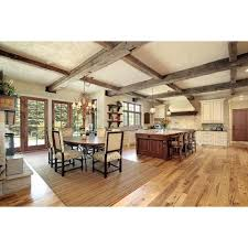 Solid Hardwood Floors - natural rustic oak smooth solid hardwood 3 4in x 5in