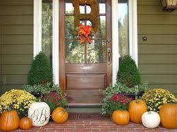 Front Porch Fall Decorating Ideas - decorations simple design of fall porch decorating ideas 19