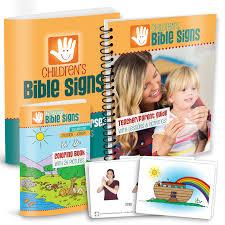 children u0027s bible signs kit 1