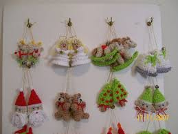 crochet simple y delicado adornos para navidad crochet