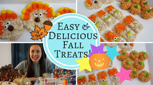 easy delicious fall treats thanksgiving rice