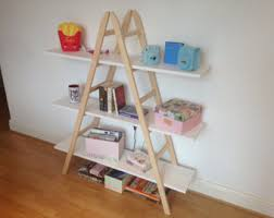 wooden ladder with photo frames baby u0027s room decoration