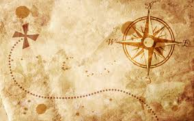 Map Wallpaper Old Map With A Compass On It Wallpapers Hd Wallpaper Wiki