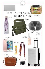10 Must Travel Essentials For by 10 Travel Essentials You Can T Go Anywhere Without Inspired By This