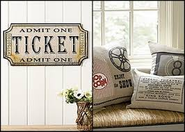 home theater room decor concession stand pillow idea movie room decor pillows movie