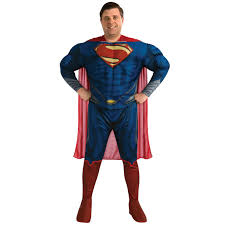mens muscle chest padded superhero fancy dress new costume