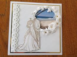 cotswold crafter the most beautiful wedding card by