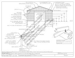 Plans For A Garage by Pole Barn Lean To Plans Sds Plans