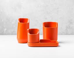 Plastic Desk Organizer Base S Polystone Plastic Desktop Organizers Core77