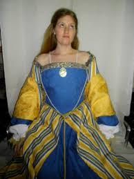 blue and yellow dress on etsy u2013 tina rie studio
