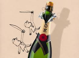 champagne bottle cartoon the father son duo behind the brown palace u0027s champagne cascade