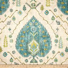 Pds Upholstery Amazon Com Richloom Aubusson Aegean Fabric By The Yard