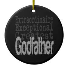 the godfather ornaments keepsake ornaments zazzle