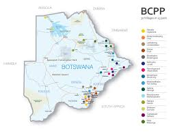 Botswana Map The Botswana Combination Prevention Project A Way To End The