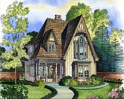 old world european cottage house plans