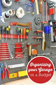 organizing your garage on a budget simply stacie