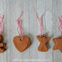 easy handmade cinnamon ornaments artful homemaking