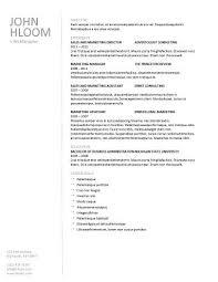 Plain Resume Template Plain Linear Cv Pinterest Microsoft Word And Resume Template