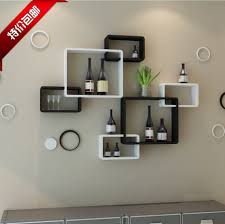 living room wall shelves tv background wall shelving cross creative lattice shelf clapboard