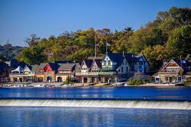 Boat House Row - boathouse row curbed philly