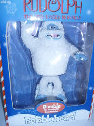 rudolph bumble abominable monster bobblehead nib toys