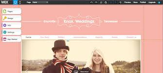 wedding planning website how to create a wedding planning website using wix 7 steps