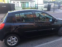 used renault clio 2006 petrol 1 1 black for sale in dublin