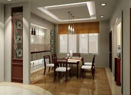 dining room with chandelier awesome dining room recessed lighting