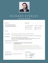 Advertising Resume Templates 50 Most Professional Editable Resume Templates For Jobseekers