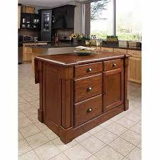 home styles kitchen island home styles aspen rustic cherry kitchen island walmart com