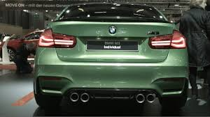 Bmw M3 Colour 2017 Bmw M3 Individual Competition Package Youtube