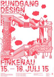 grafik design hamburg haw hamburg rundgang poster 2015 on behance trillustration