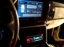 build a cadillac escalade 02 escalade build progress stereo system a must