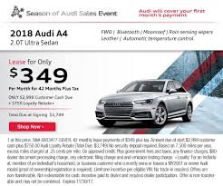 audi a4 lease specials audi lease specials in oxnard ca audi dealership serving