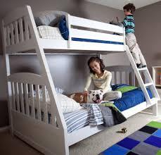 fun white twin over full bunk bed design ideas u0026 decors
