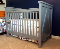 Baby Crib Blueprints by Ana White Crib For Baby 3 Diy Projects