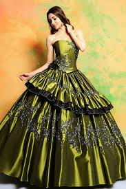 green and brown wedding dress plus size wedding dresses
