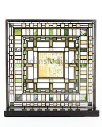 frank lloyd wright d d martin house stained glass maclin studio