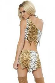 Cave Woman Halloween Costumes Leopard Cat Jungle Cavewoman Halloween Folk Costume Pink Queen