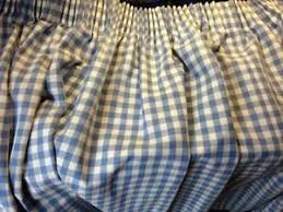 Gingham Curtains Blue Gingham Curtains Ebay