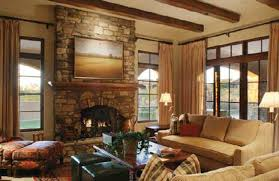 Decorating Living Room With Stone Fireplace Living Room Design Minimalist Interior Living Room With Wall