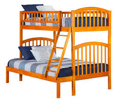 Columbia Full Over Full Bunk Bed by Amazon Com Richland Bunk Bed Twin Over Full White Kitchen U0026 Dining