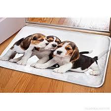 chambre pour chien mignon chien entrée paillasson drôle pour salle de bain salon
