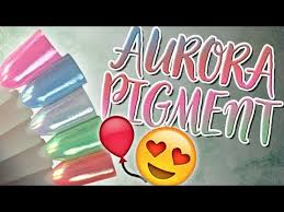 acrylnã gel design pigment trend 2017 ytb vid