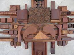 mabel hutchinson abstract wood assemblage