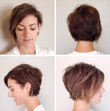 front and back pictures of short hairstyles for gray hair short haircuts front and back hairstyle ideas in 2018