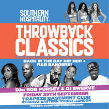 southern hospitality presents throwback classics tickets