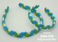 ribbon headbands how to cover a headband in ribbon this could be for holidays