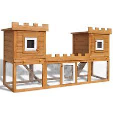 Best Rabbit Hutches Rabbit Wooden Small Animal Cages Ebay