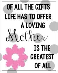 mother u0027s day printable quotes google search artsy fartsy
